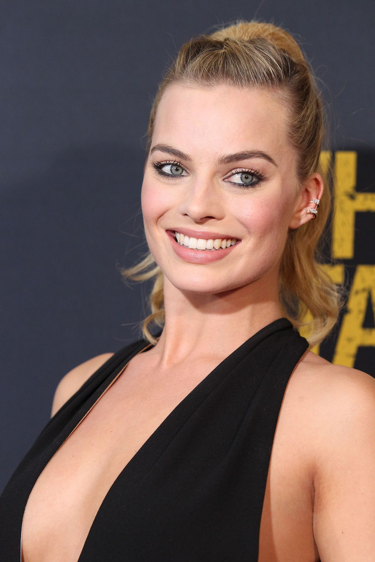 Margot Robbie Whiskey Tango Foxtrot Premiere In New