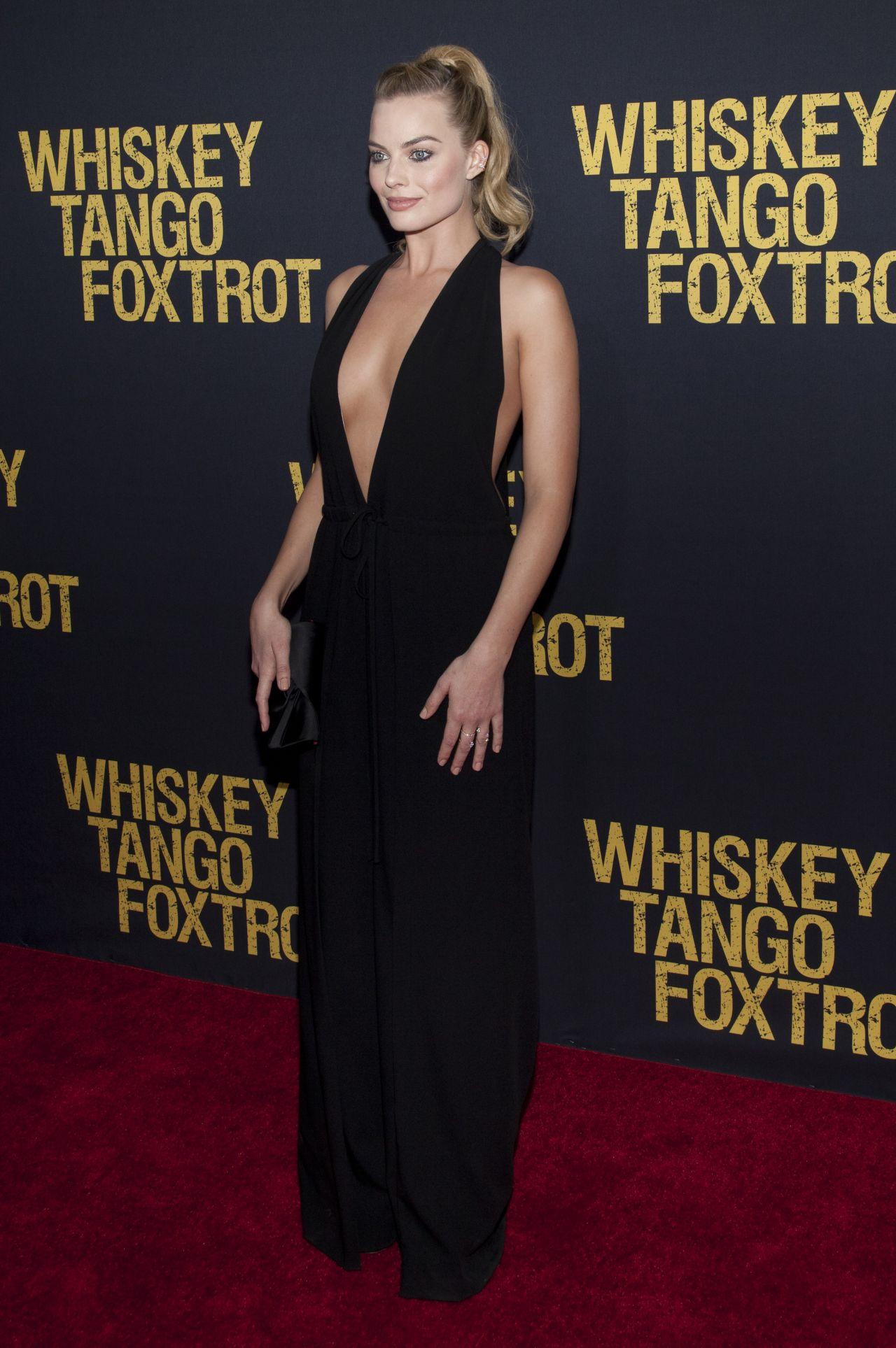 Margot Robbie Whiskey Tango Foxtrot Premiere In New