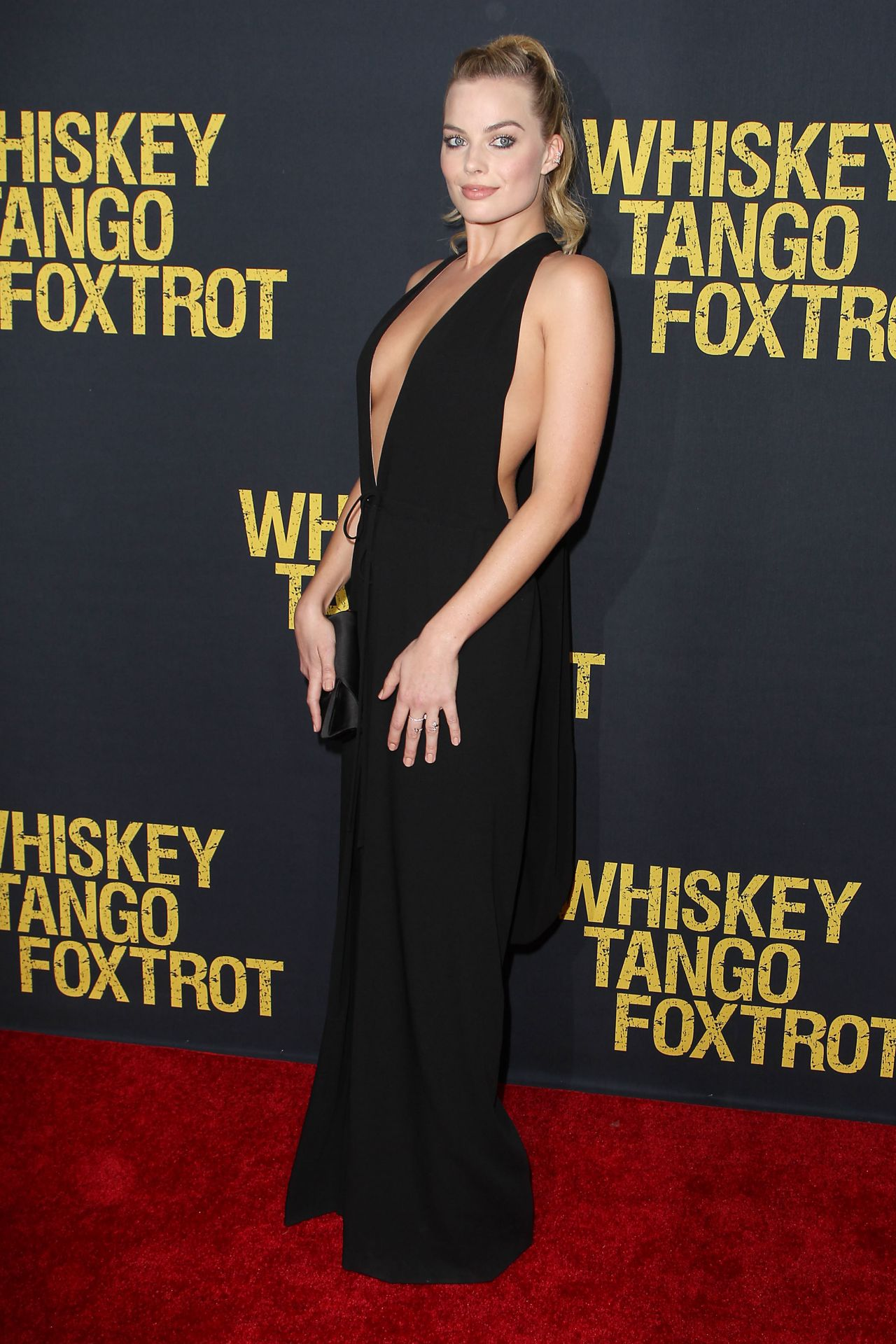Margot Robbie Whiskey Tango Foxtrot Premiere In New York City Ny