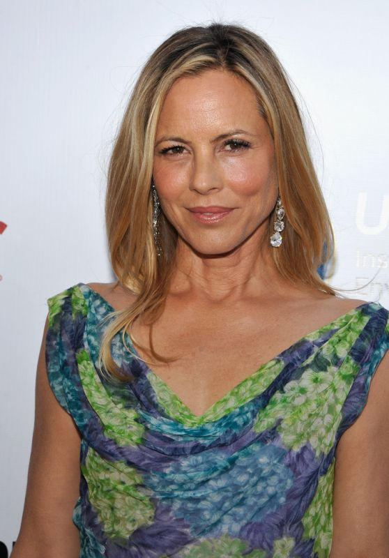 Maria Bello – UCLA Institute of the Environment and Sustainability Gala in Beverly Hills 3/24/2016