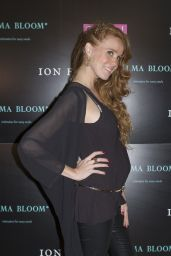 Maria Castro Attends the Presentation of the New Collection ALMA BLOOM BY ION FIZ in Madrid 3/9/2016