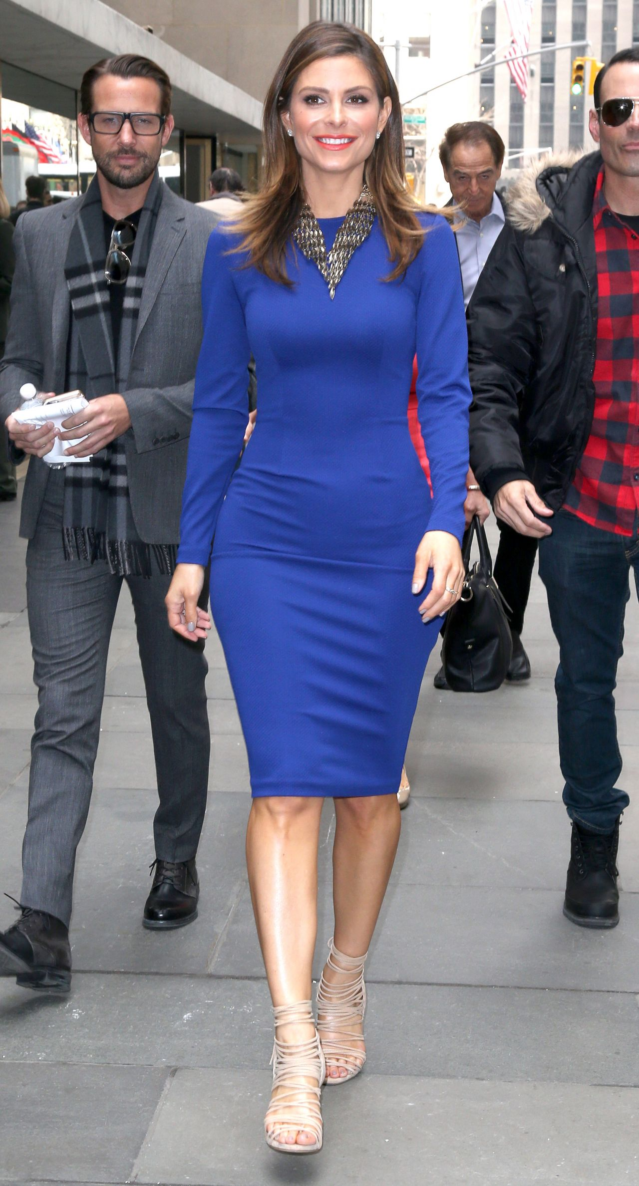 Maria Menounos Style At The Today Show In New York City
