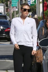 Maria Sharapova Heading Out For a Workout With Her Trainer - Los Angeles 3/10/2016