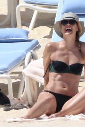 Maria Sharapova in Green Bikini in Cabo 3/27/2016