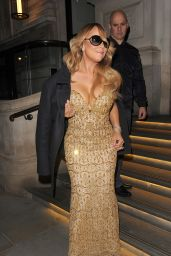 Mariah Carey - at Her Hotel in London 3/18/2016