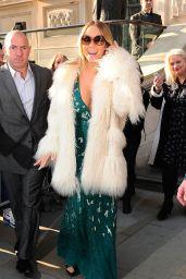 Mariah Carey - Leaving Her Hotel in London 3/17/2016