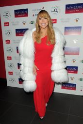 Mariah Carey - Official Aafterparty at Nylon Bar in the o2 Arena, Following Her Gig 3/23/2016