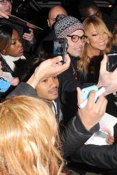 Mariah Carey - Out in London 3/21/2016
