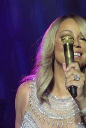 Mariah Carey Performing in Glasgow, Scotland 3/15/2016