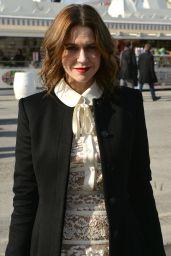 Marie-Josée Croze Arriving at Elie Saab Fashion Show – Paris Fashion Week, March 2016