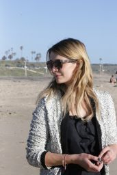 Marissa Cooper - Filming Sunset Scenes for Dancing With The Stars 3/26/2016