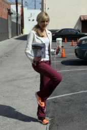 Marla Maples Practice for Season 22 of Dancing With the Stars 3/27/2016