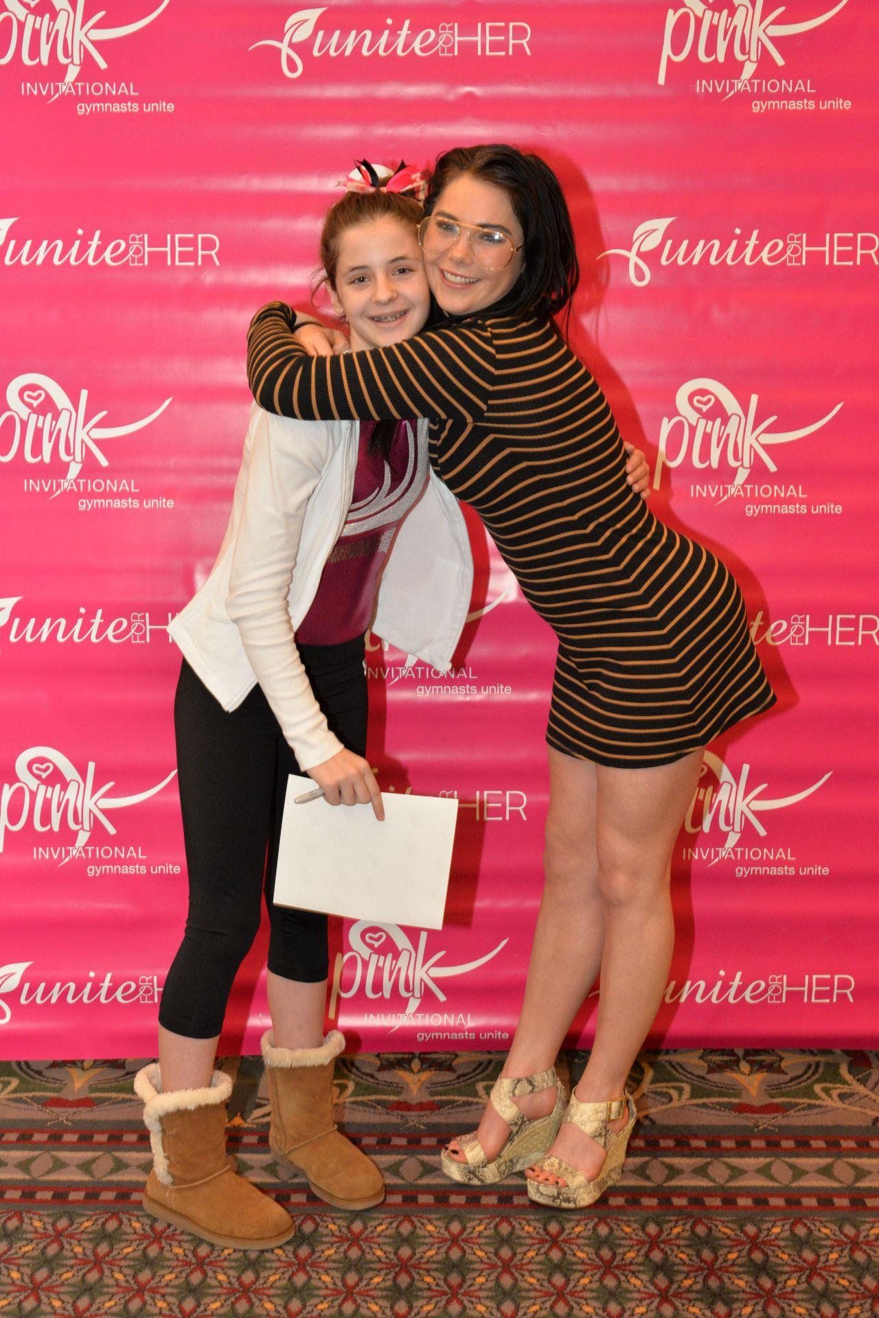 mckayla maroney pink invitational gymnastics in