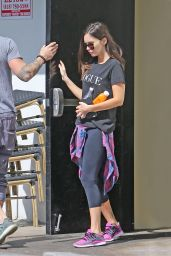 Megan Fox at Sweet Butter Cafe in Studio City in LA, March 2016