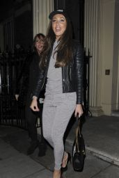 Megan McKenna at Maids to Measure Cocktail Party in London 3/2/2016