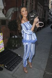Megan McKenna at Tangle Teezer Product Launch in London, March 2016