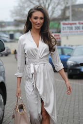 Megan Mckenna at the Brickyard Grill in Romford, Essex, March 2016