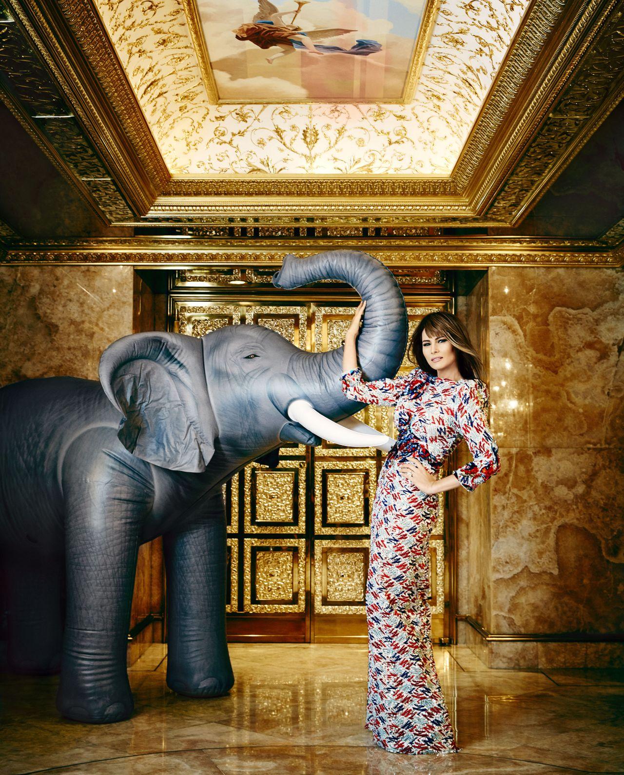 Melania Trump Harper 39 S Bazaar Magazine February 2016