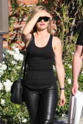 Mena Suvari Street Style - Out in West Hollywood 2/29/2016