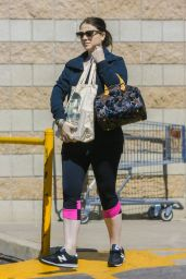 Michelle Trachtenberg - Shopping in Los Angeles, March 2016