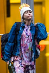 Miley Cyrus Street Style - Out in New York 3/14/ 2016