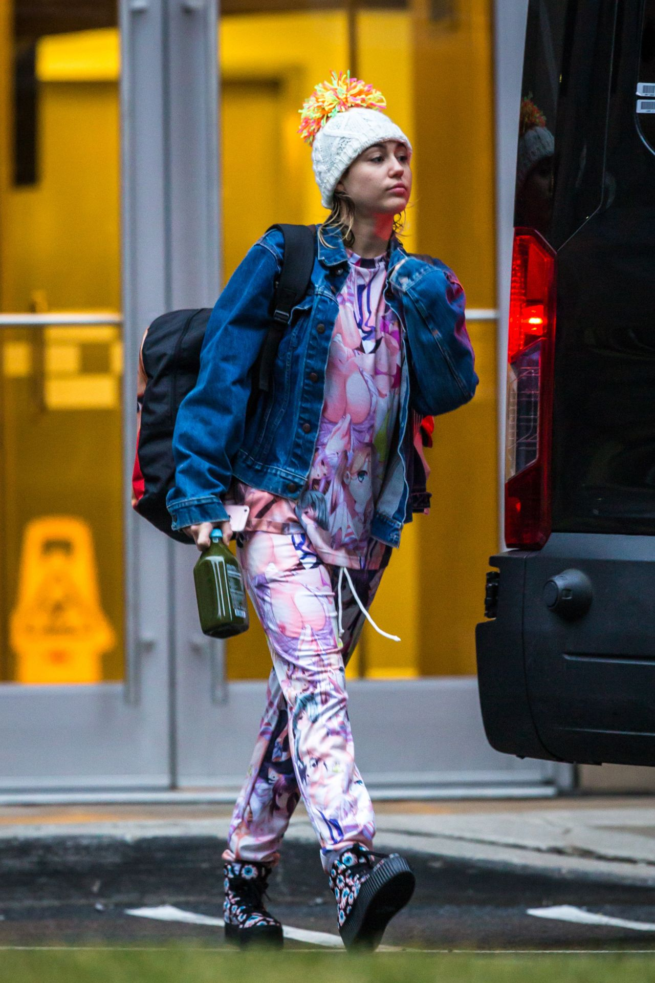 Miley Cyrus Street Style Out In New York 3 14 2016
