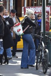 Miley Cyrus Street Style - Out in SoHo, New York City 3/29/2016