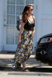 Minka Kelly Street Style - Out in Los Angeles, March 2016