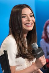 Miranda Cosgrove at AOL Studios in New York City 3/18/2016