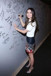 Miranda Cosgrove at AOL Studios in New York City 3/18/2016