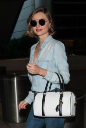 Miranda Kerr Airport Style - LAX in Los Angeles 3/17/2016
