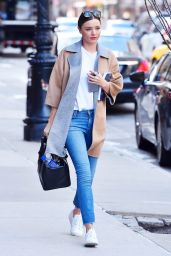 Miranda Kerr is Looking Stylish - New York City 3/3/2016