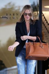 Molly Sims - Shopping in Los Angeles 3/11/2016
