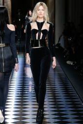 Monica Jagaciak - Balmain Show - Paris Fashion Week, March 2016