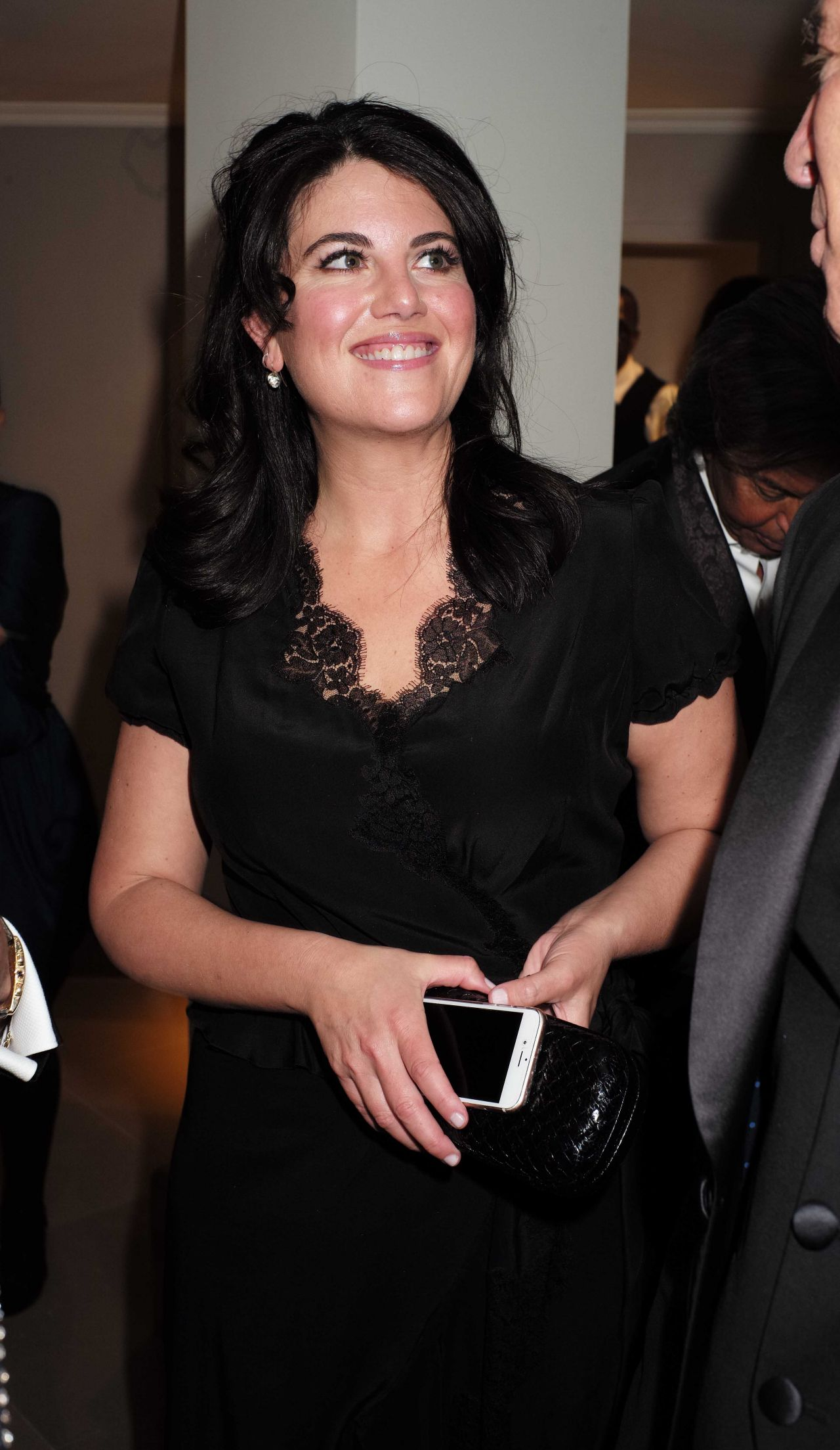 Monica Lewinsky Despite The Falling Snow Charity Gala Screening In London March 2016