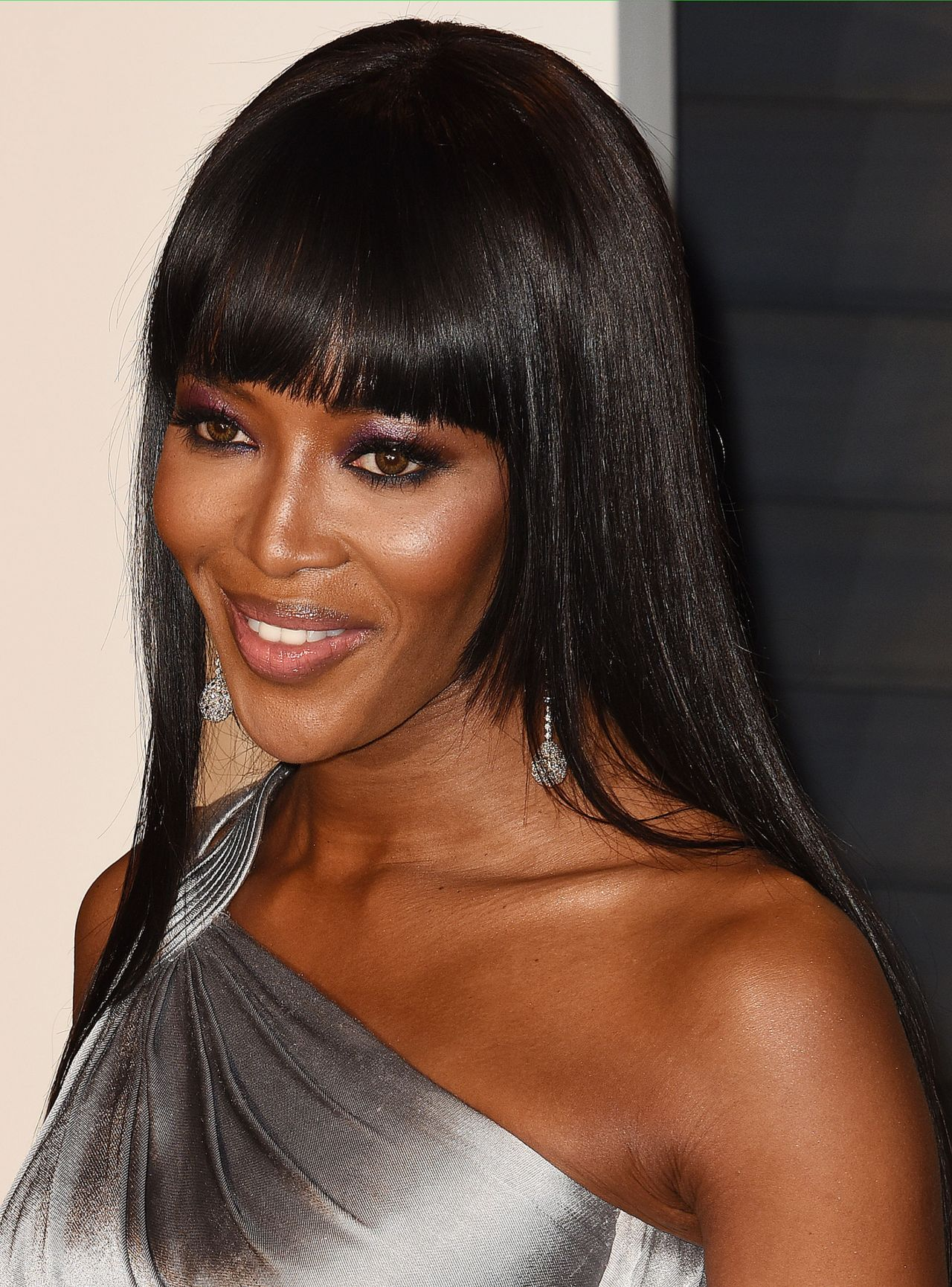 Naomi Campbell 2016 Vanity Fair Oscar Party In Beverly