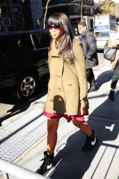 Naomi Campbell - Arrives at