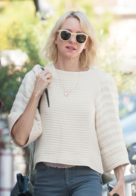Naomi Watts- Out Having Lunch With a Friend in Los Angeles 2/29/2016
