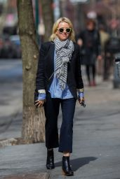 Naomi Watts - Out in West Village, New York City, 3/16/2016