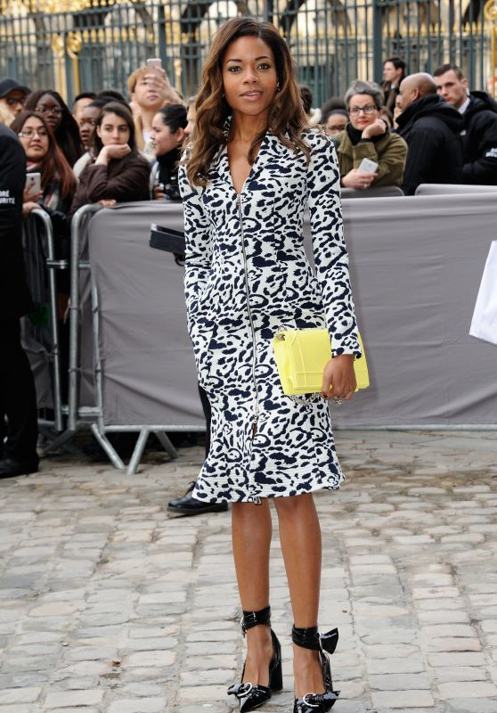 Naomie Harris - Christian Dior Show at Paris Fashion Week, 3/4/2016