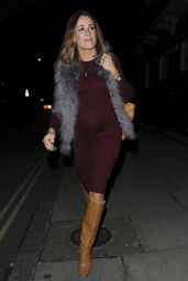 Natalie Pinkham at Maids to Measure Cocktail Party in London 3/2/2016