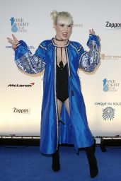 Natasha Bedingfield – One Night for ONE DROP Blue Carpet in Las Vegas 3/18/2016