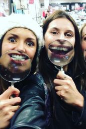 Nina Dobrev Social Media Pics, March 2016 Part I