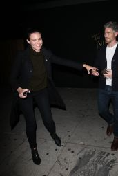 Odette Annable And Dave Annable Leave The Nice Guy Club in West Hollywood 3/27/2016