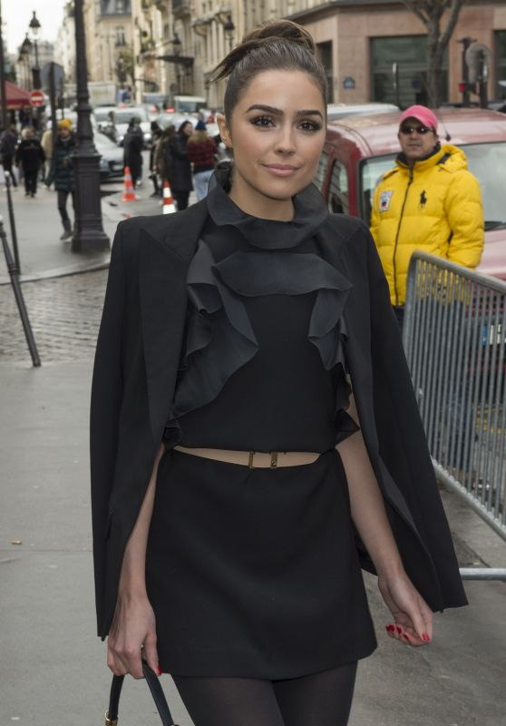 Olivia Culpo - Giambattista Valli Fashion Show in Paris 3/8/2016
