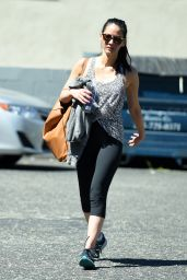 Olivia Munn - Outside 3rd Street Dance Studio in Los Angeles 3/23/2016