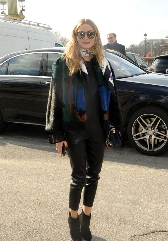 Olivia Palermo - Elie Saab Fashion Show in Paris, March 2016