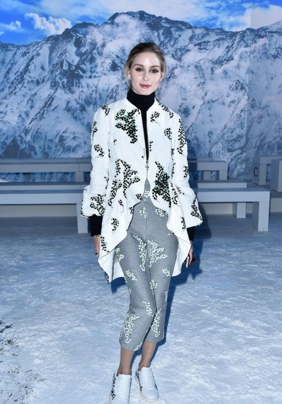 Olivia Palermo - Montcler Gamme Rouge Fashion Show in Paris 3/9/2016
