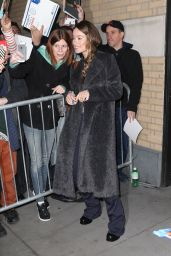 Olivia Wilde - Outside the Apple Store in New York City 3/17/2016