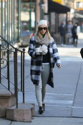 Olivia Wilde Street Style - Out in New York City, March 21 2016